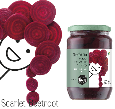 Miss Scarlet Beetroot