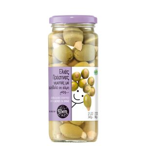 Green olives stuffed with almonds 340gr