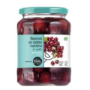 Sour cherry in syrup 680gr